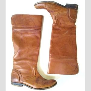 Frye Melissa Trapunto Tall Riding Boots Sz 6 76442